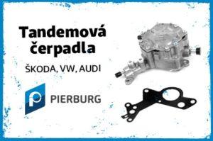 K MOTORSHOP ponúka tandemové čerpadlá Pierburg