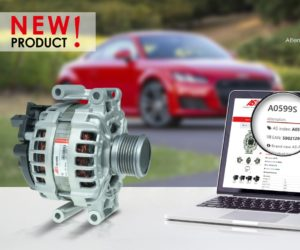 Nový alternátor pre vozidlá skupiny VW