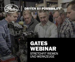 Gates spúšťa webináre ako technickú podporu mechanikov