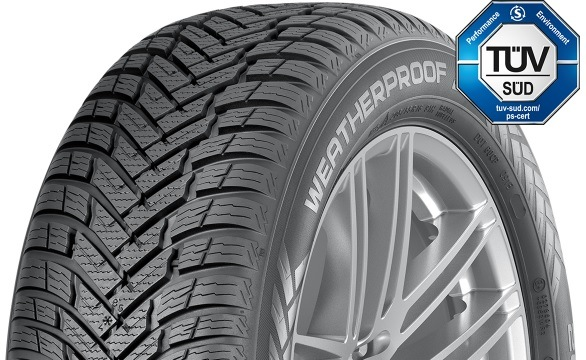 Nová pneumatika Nokian Wetproof SUV