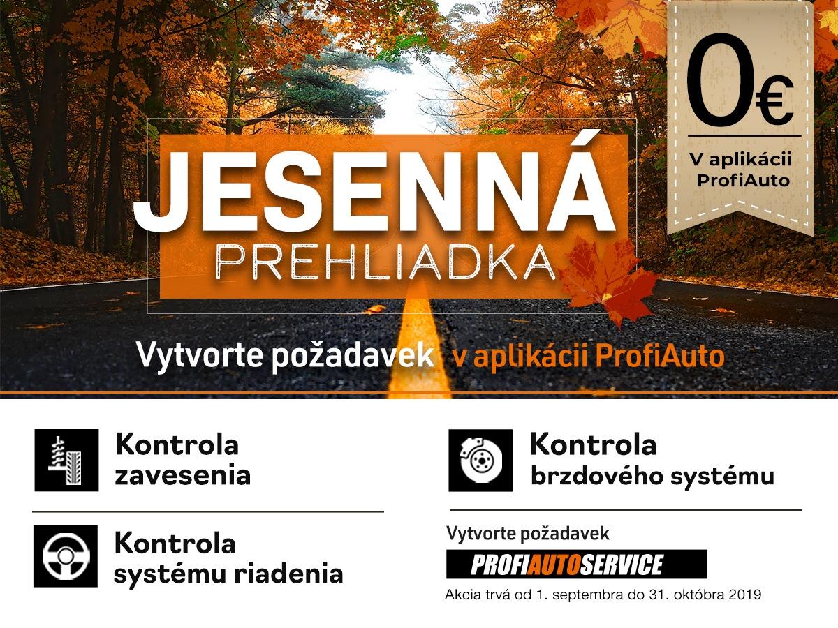 Bezplatná jesenná prehliadka v sieti servisov ProfiAuto