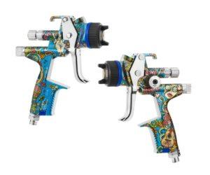 Na trhu je limitovaná edícia pištole SATAjet X5500 v štýle Hippie