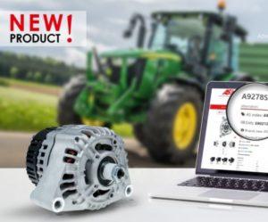 Nový alternátor pro traktory John Deere a Fendt