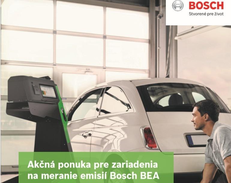 Akčná ponuka pre zariadenia na meranie emisií Bosch BEA