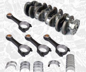 Novinka u K MOTORSHOP: Sady kľukové hriadele vrátane ložísk a ojníc pre motory PUMA 2,2HDI