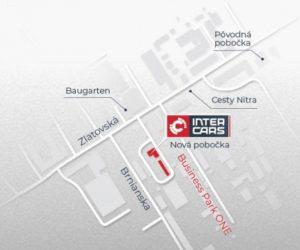 Pobočka Inter Cars Trenčín zmenila adresu