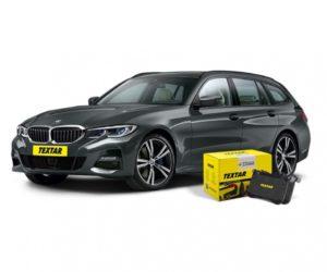 Textar brzdové destičky pro BMW 3 Touring