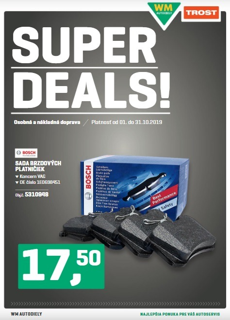 WM Autodiely: Super deals 10/2019