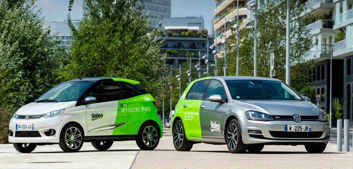 Komplexné 48V systémy pre hybridné a elektrické vozidlá od firem Valeo a Dana