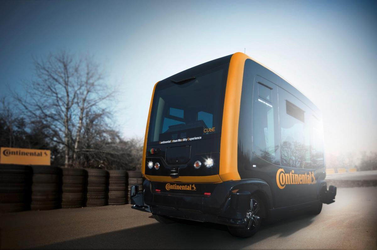 Continental autonomní vůz