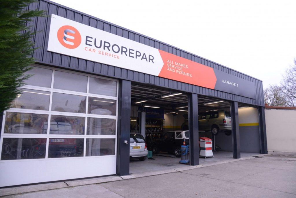 Servisný koncept EUROREPAR CAR SERVICE