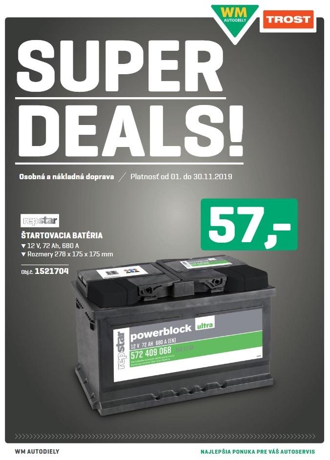 WM Autodiely: Super deals 11/2019