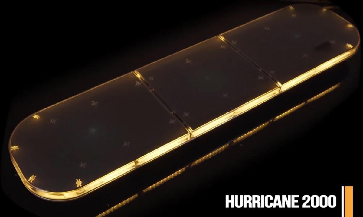 LED světelná lampa HURRICANE 2000