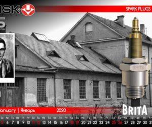 Kalendář firmy Brisk pro rok 2020