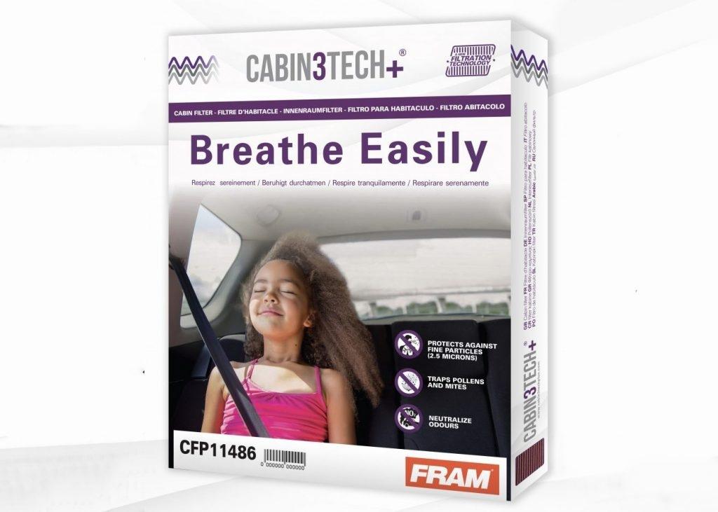 Nová generácia kabínových filtrov Cabin3Tech+