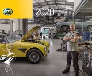 Kalendář firmy Hella pro rok 2020