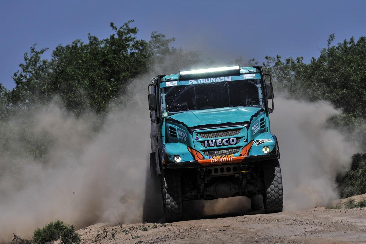 PETRONAS De Rooy IVECO na Dakaru 2020