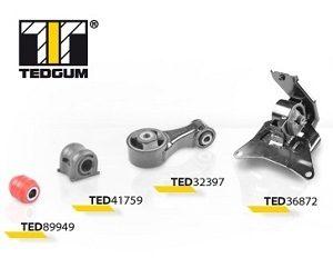 Silentbloky značky TEDGUM pro asijské vozy