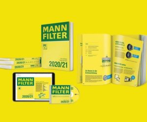 Nový katalog MANN-FILTER je k dispozici