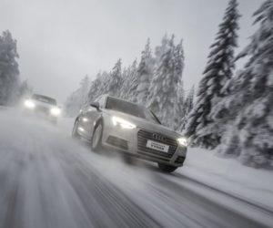 Evropští řidiči považují v zimě za největší riziko rychlou jízdu a jízdu na zasněžených, kluzkých vozovkách