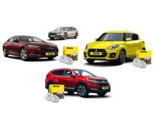 První na trhu: brzdové kotouče Textar pro vozy Honda CR-V, Opel/Vauxall Insignia a Suzuki Swift