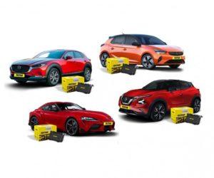 Textar: Brzdové destičky pro Toyotu, Opel, Nissan a Mazda