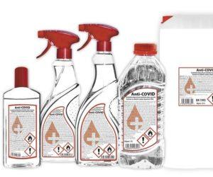 Firma DF Partner spustila výrobu dezinfekce Anti-COVID