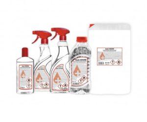 DF Partner věnuje všem domovům pro seniory 20 litrů dezinfekce Anti-COVID