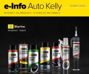 Auto Kelly: e-info duben 2020