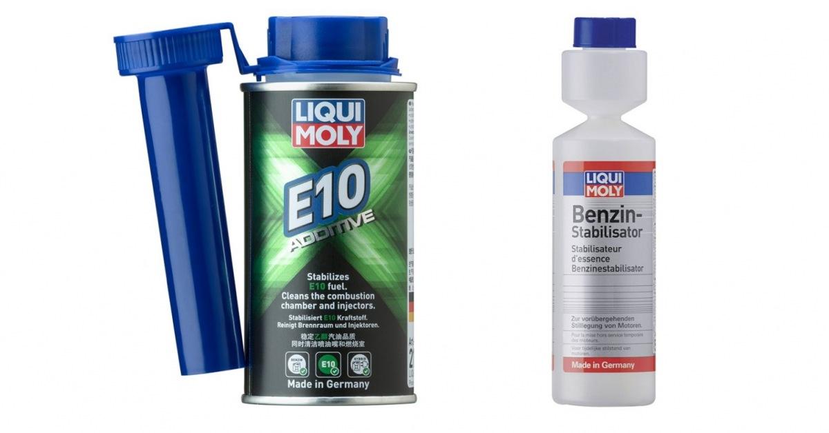 LIQUI MOLY Additive E10 a stabilizátor benzinu