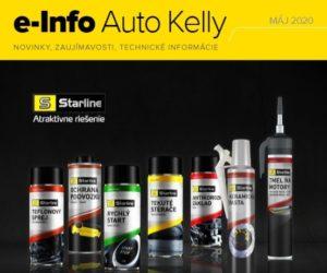 Auto Kelly: e-info máj 2020