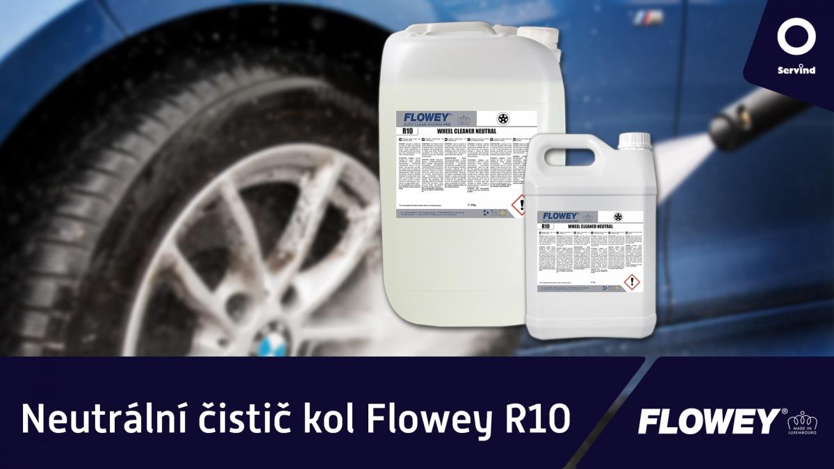 Neutrálny čistič kolies Flowey R10 v Servindu