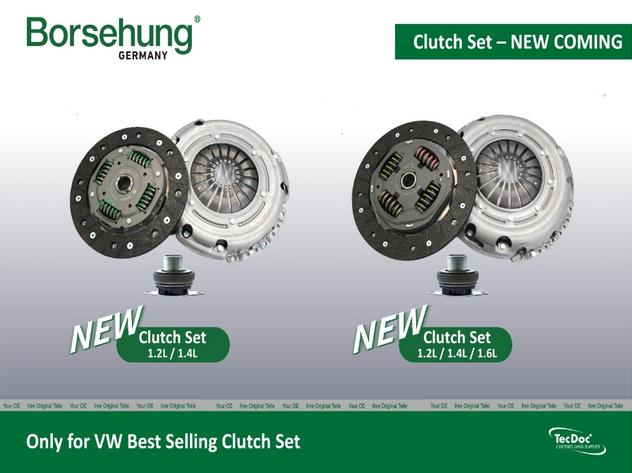 Novinka AUTO-MOTO RS: Nová séria spojkových sád v značke Borsehung