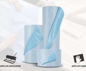 Interaction představuje ochrannou samolepicí textílii 3M Self-Stick Liquid Protection Fabric