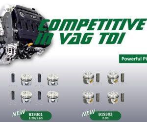 AUTO-MOTO RS rozširuje portfólio o samostatné piesty, sady piestov a krúžky značky Borsehung