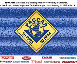 PACCAR udelil ocenenie za kvalitu firme Dayco
