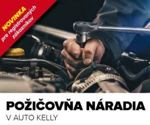 Nová služba Auto Kelly – požičovňa náradia