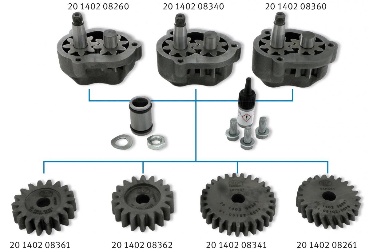 MS Motorservice konfiguračný systém pre olejové čerpadlá