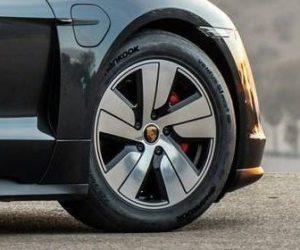 Hankook bude dodávat speciální e-pneumatiky pro sportovní elektromobil Porsche Taycan