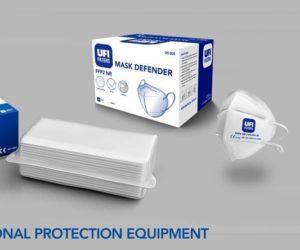 Firma UFI Filters rozšířila výrobu o ochranné masky s filtry