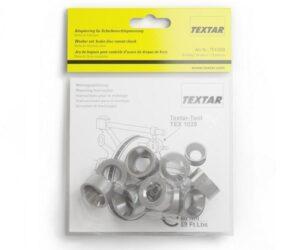 Sada kuželových kroužků pro test házivosti od firmy Textar