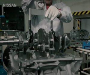Sterilní montáž motoru V6