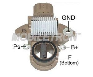 Nová patice regulátoru pro vozidla s ukládáním elektrické energie do kondenzátoru