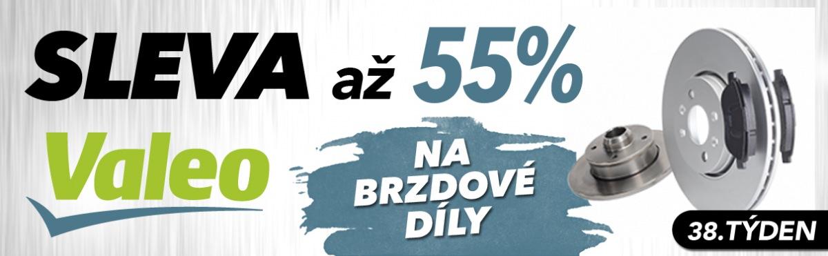 J+M autodíly: Až 55% slevy na brzdové díly Valeo
