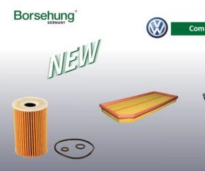AUTO-MOTO RS rozširuje sortiment v značke Borsehung o filtre pre vozidlá v značke VW Group