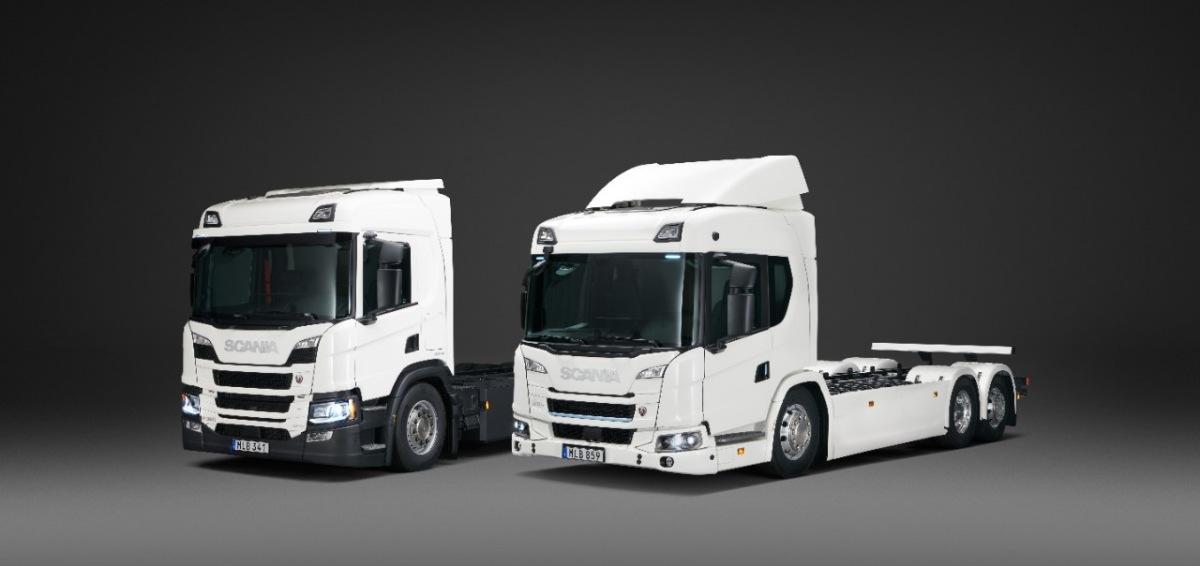 Elektrické vozy Scania