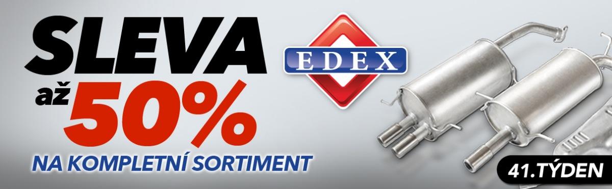 J+M autodíly: Až 50% slevy na kompletní sortiment Edex