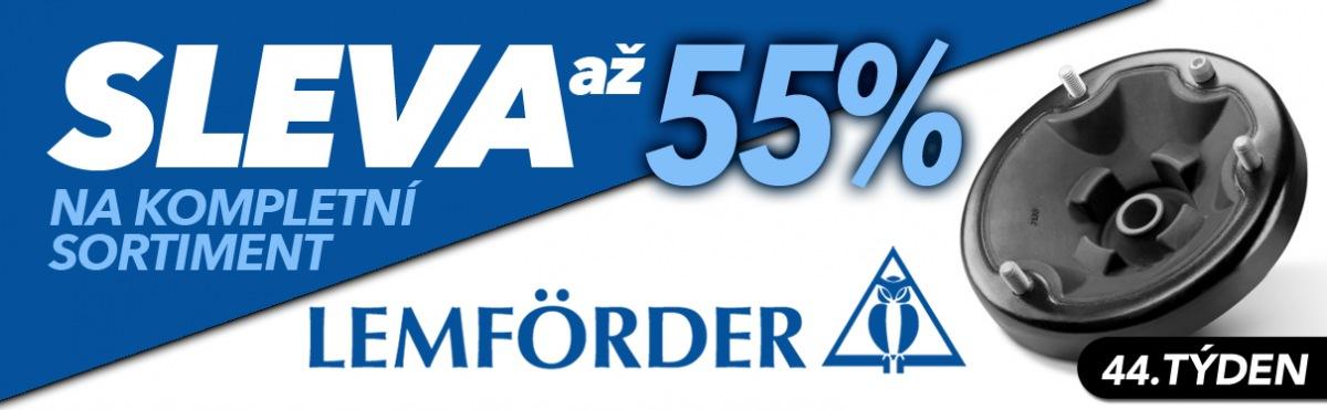 J+M autodíly: Až 55% slevy na kompletní sortiment Lemförder