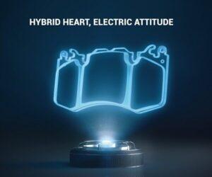 HybriX – brzdová destička pro hybridní a elektrická vozidla od Metelli Group