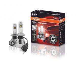 OSRAM nabízí legální LED autožárovky do čelních světlometů